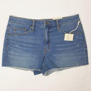 Universal Thread High Rise Denim Shorts 12